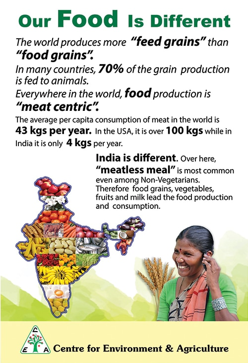 india's food preference poster